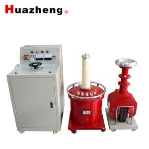 China companies ac and dc hi pot tester /ac high voltage hipot tester SF6 testing transformer