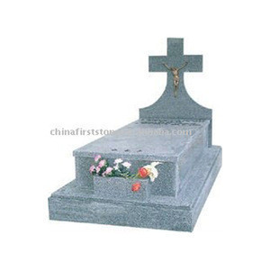 China Designs Cheap Price Gray Tombstones And Monuments GME092