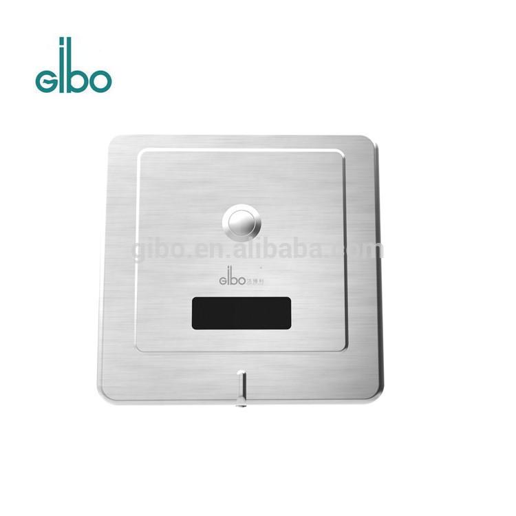 Concealed automatic sensor urinal flush valve for public toilet
