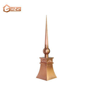 Copper Lightning Rod For Roofing System