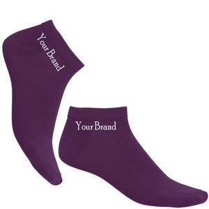 Custom 100% Bamboo Black Cheap Ankle Socks Work Women Dress Socks
