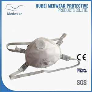 FFP3 Disposable Respirator Mask for Asbestos with valved