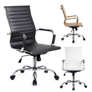 Free Sample Boss Swivel Revolving Manager PU Leather Executive Office Chair/Chair Office