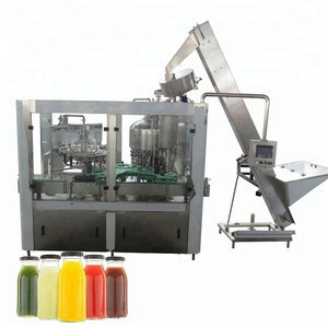 Glass bottle non alcoholic sparkling wine water filling machine 8000bph with CE high speed
