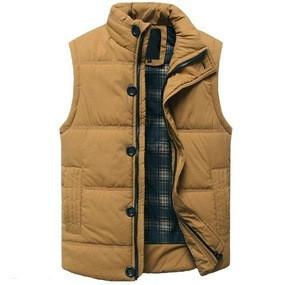 Good quality custom men fashion waistcoat cotton padding Vest