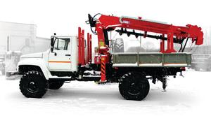 HANGIL Aerial Work Platform Truck / Truck mounted Cranes