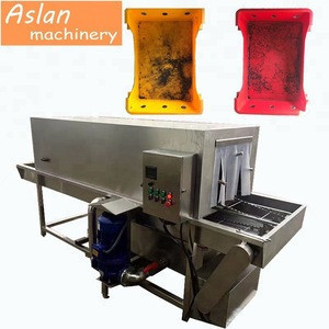 High pressure basket washer machine / Turnover basket washing machine / Plastic crates washing machine price