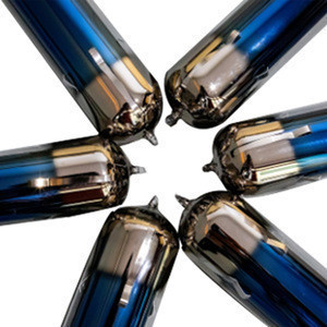 High quality heat pipe solar water heater vacuum tubes with glass vacuum tube