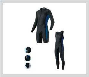 Hot sale 5mm Neoprene wetsuits scuba diving wetsuit Long John with Jacket neoprene diving wetsuit