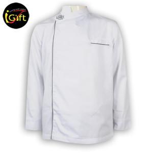 Hot selling Simple fashion Custom design white hotel chef uniform
