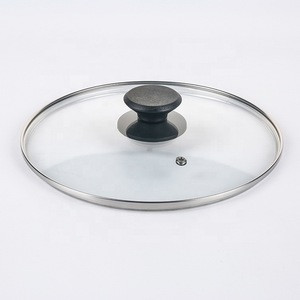 Lodge 8 inch G type tempered glass round lid cover for electric pressure cooker lid