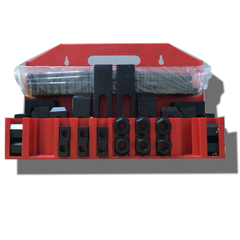machine accessories tools steel clamping tool kit work holding tool with metal holder and slot