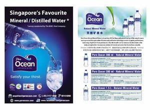 Malaysia Halal Pere Ocean Drinking Water