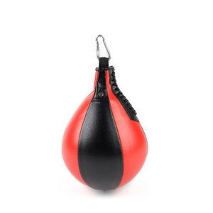 Pear Shape Faux Leather Boxing Speed Ball Swivel Punch Bag