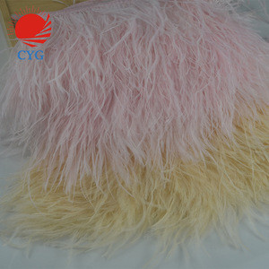 Pink Ostrich Fringe Trim Wholesale Feather