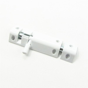Plastic door bolts for wooden frame window