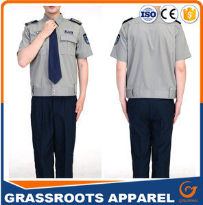 Private Security Guard Uniforms Of Security Guard Suit Uniform European style and American style security guard uniforms