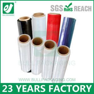 Shenzhen Plastic Film Roll Lldpe Wrap Stretch Film Packaging Stretch Wrap Film manufacturer