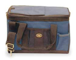 Tool Tote/Cooler Bag 12 Cans Blue/Black