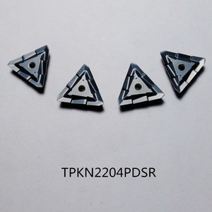 TPKN2204PDSR Cemented Carbide ISO Milling Inserts TPKN