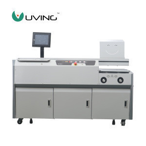U-TH600 High Speed Heavy Duty hardcover hot melt glue binding machine suitable for Art paper
