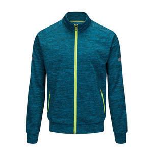 Warm up men blank winter sport jacket football team training soccer jacket