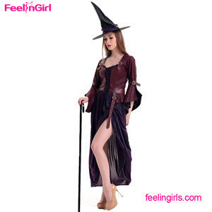 Wholesale Bulk Custom Woman Sexy Witch Halloween Costumes