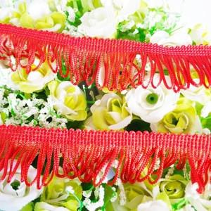 Wholesale Classic Tassel Fringe Trim Lace 100% Rayon Tassel Fringe For Dresses