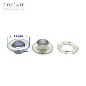 Wholesale high quality custom banner curtain round metal brass eyelets