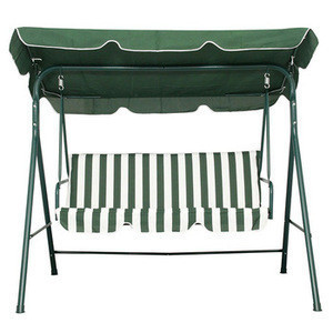 Wholesale Power coated patio sofa outdoor deluxe 3seats outdoor Swing adult chair customizable garden patio Hanging kids chairs