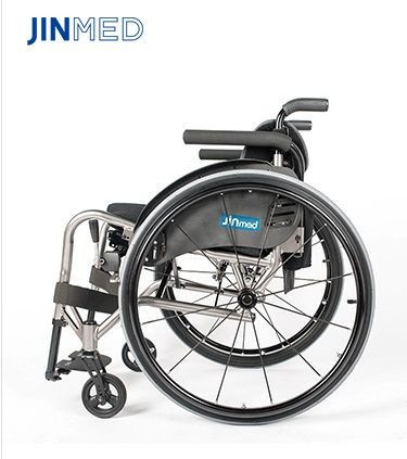 Active wheelchair light weight folding manual wheelchair