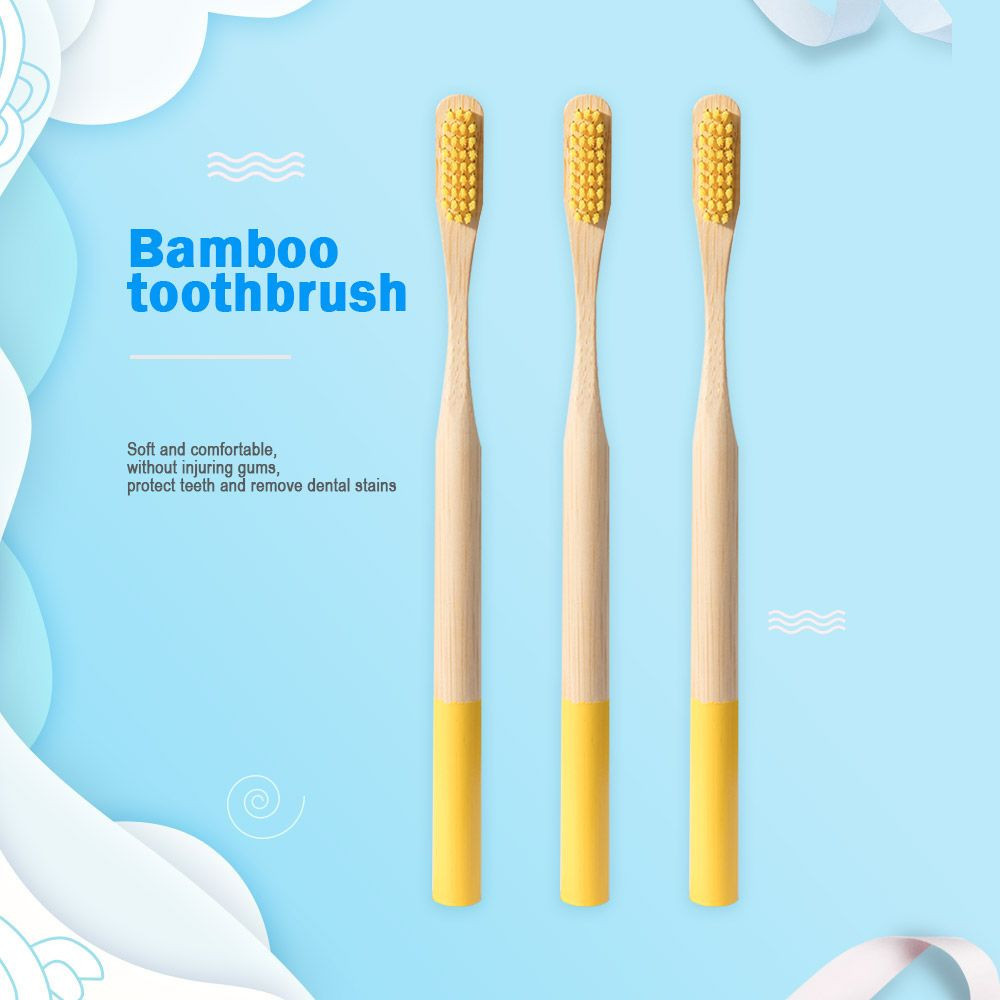 100% organic Bamboo Toothbrush