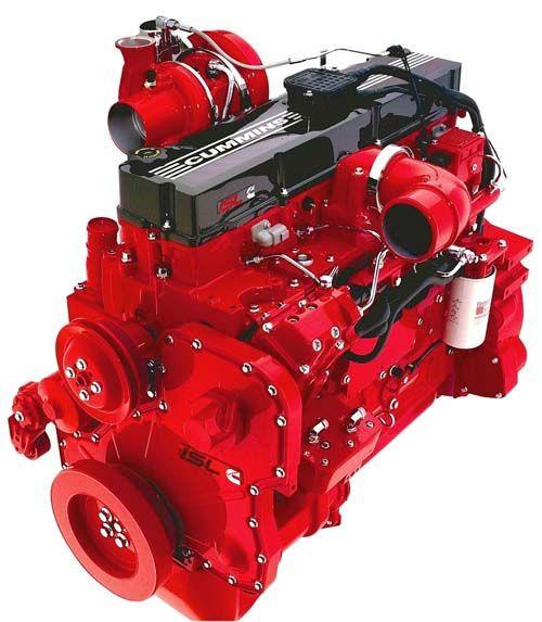 Cummins flame proof diesel engine