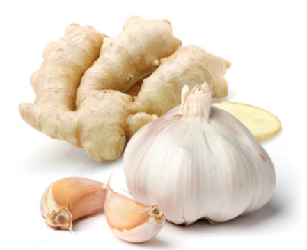 Fresh Garlic and Ginger