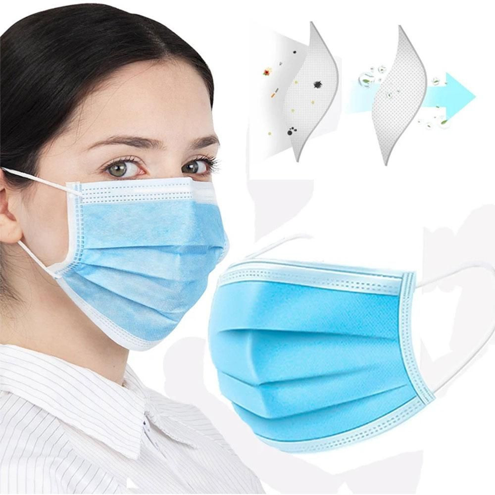 Anti Covid-19, Medical / Surgical Face Mask 3 Ply, FDA, TüV certificated, Manufactory direct