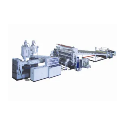 PP / PE / PS / PVC Sheet Extrusion Line