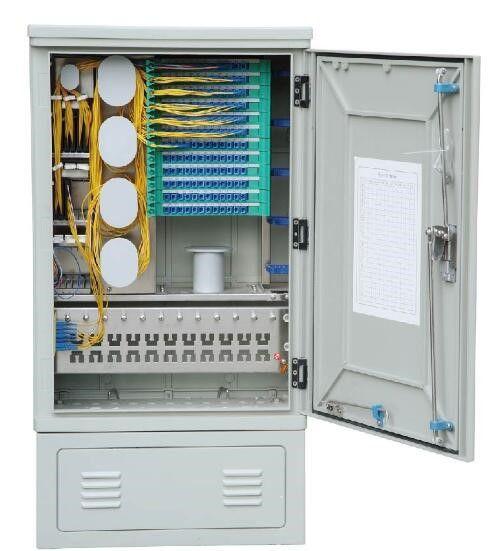 SMC 144 Fiber Distribution Terminal Cabinet