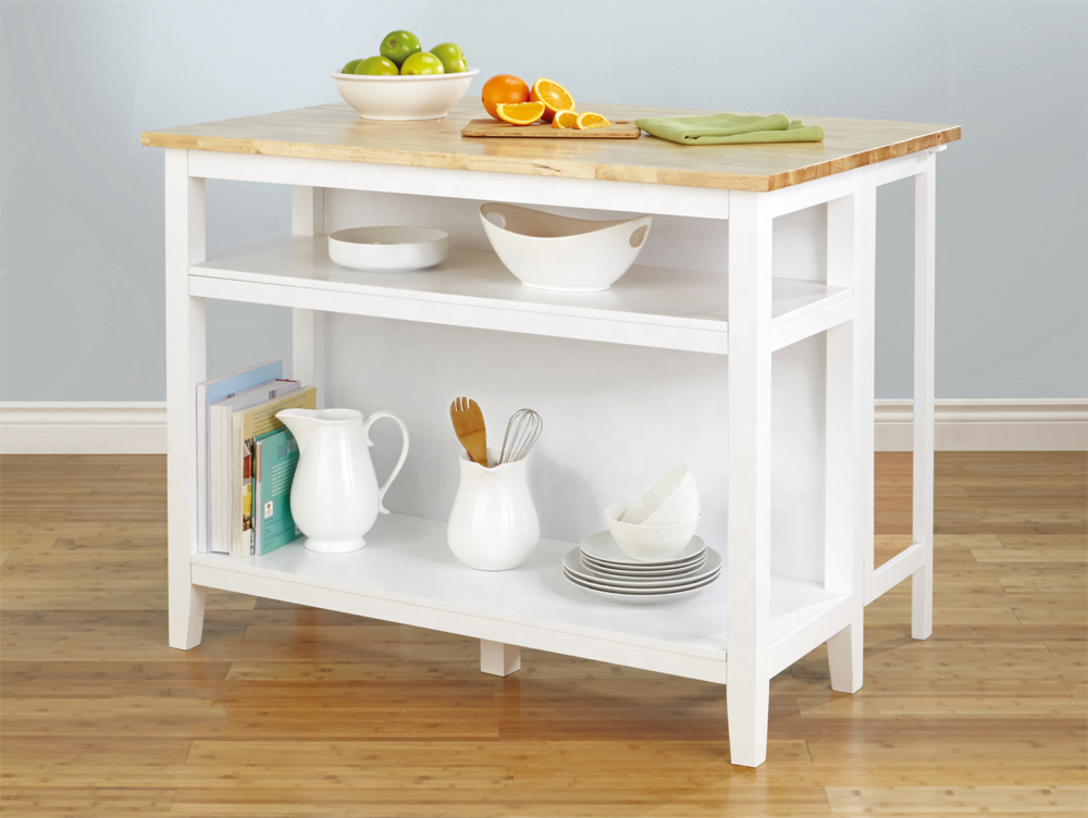 Folding kitchen wooden food serving trolley cart for home/dining trolley cart/folding table