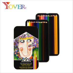 24pcs Colored Pencils Premium High Quality Prismacolor Color Pencil in Tin Box