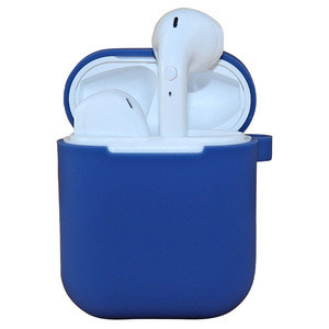 Airpods TWS Wireless Earphone Blue tooth AirPods Case Protective Cover Ear Buds Airpods Silicone Cases Cover