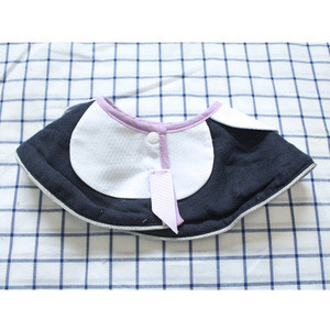 AN336  Fashion and can custom baby false collar baby bib feeding bib baby product manufacture