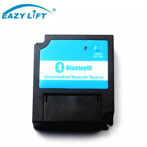 Bluetooth receiver for auto door motors