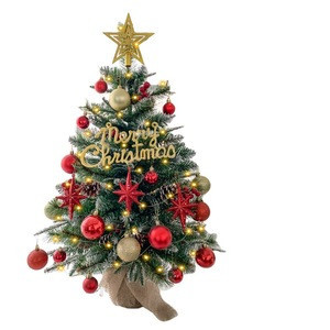 Christmas decoration supplies Beautiful Designed Desktop Mini Christmas Tree For Decoration