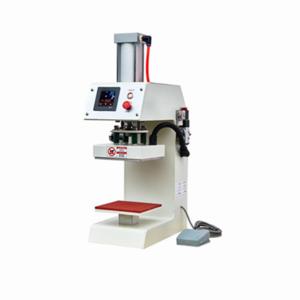 Clothes printer pneumatic single station heat transfer machine
