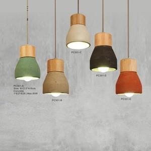 Colorful Cement Art Rubber Plastic Pendant Lighting/Chandelier Lamp Cups E27 E24