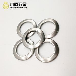 Customize flat lock steel washer solid metal round thin nut gasket DIN zinc spacer plain grommet washers
