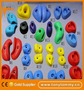EASTONY red climbing holds for Indoor & Outdoor Rock Wall to Get Kids Exercise Climbing to Strength Upper Body known