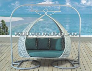 Encase rattan outdoor patio swing chair (BF10-R242)