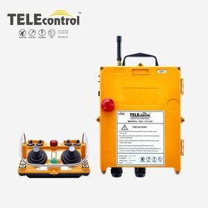 F24-60 joystick control for crane, wireless remote control for monorail crane and tower crane