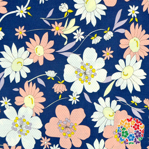 Factory Price 100% Cotton Fabric 100 * 150 CM Gorgeous Printed Flower Cotton Fabric In Stock Item